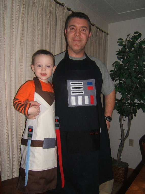 Star Wars 'Daddy and Me' Aprons
